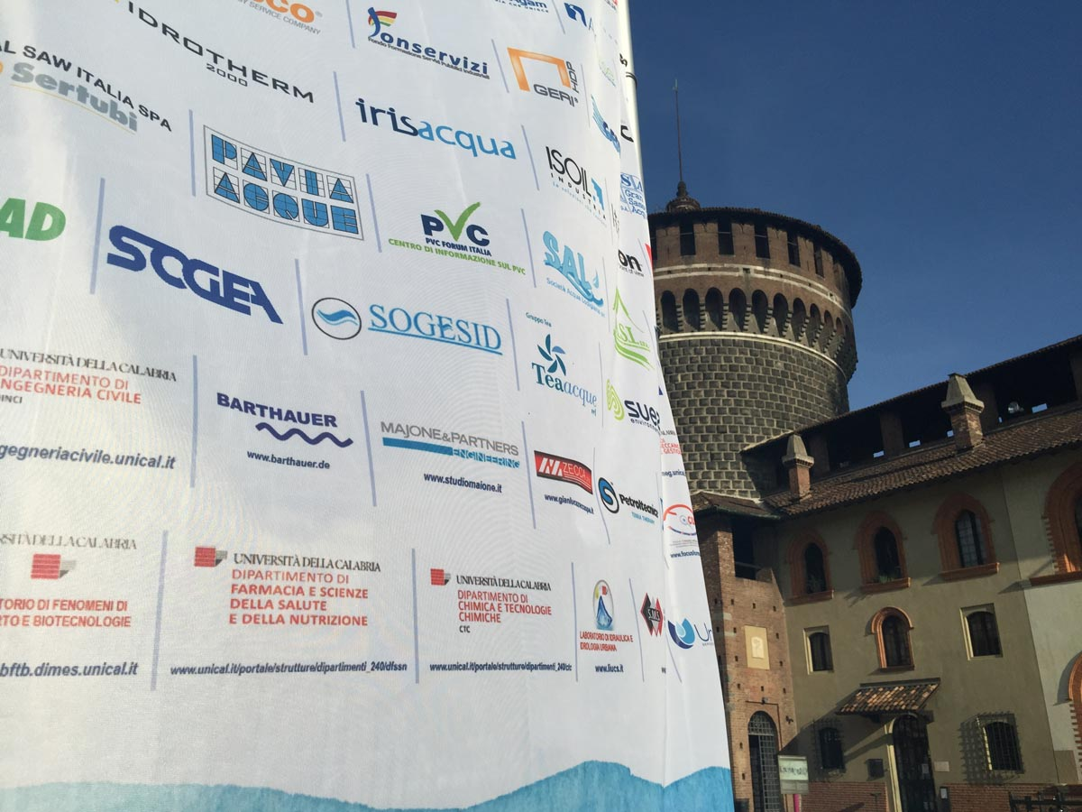 La terza edizione del Festival dell'acqua - Milano Castello Sforzesco, ottobre 2015