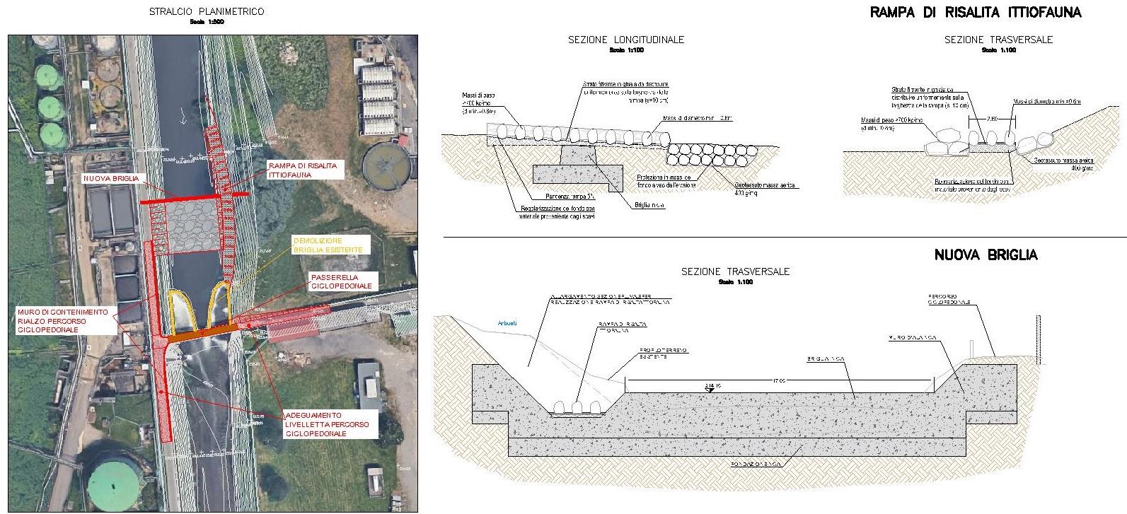Progetto-seconda-scala-risalita-fauna ittica-su-Fiume-Olona