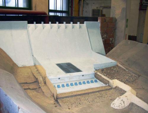 La ristrutturazione della diga di Mignano