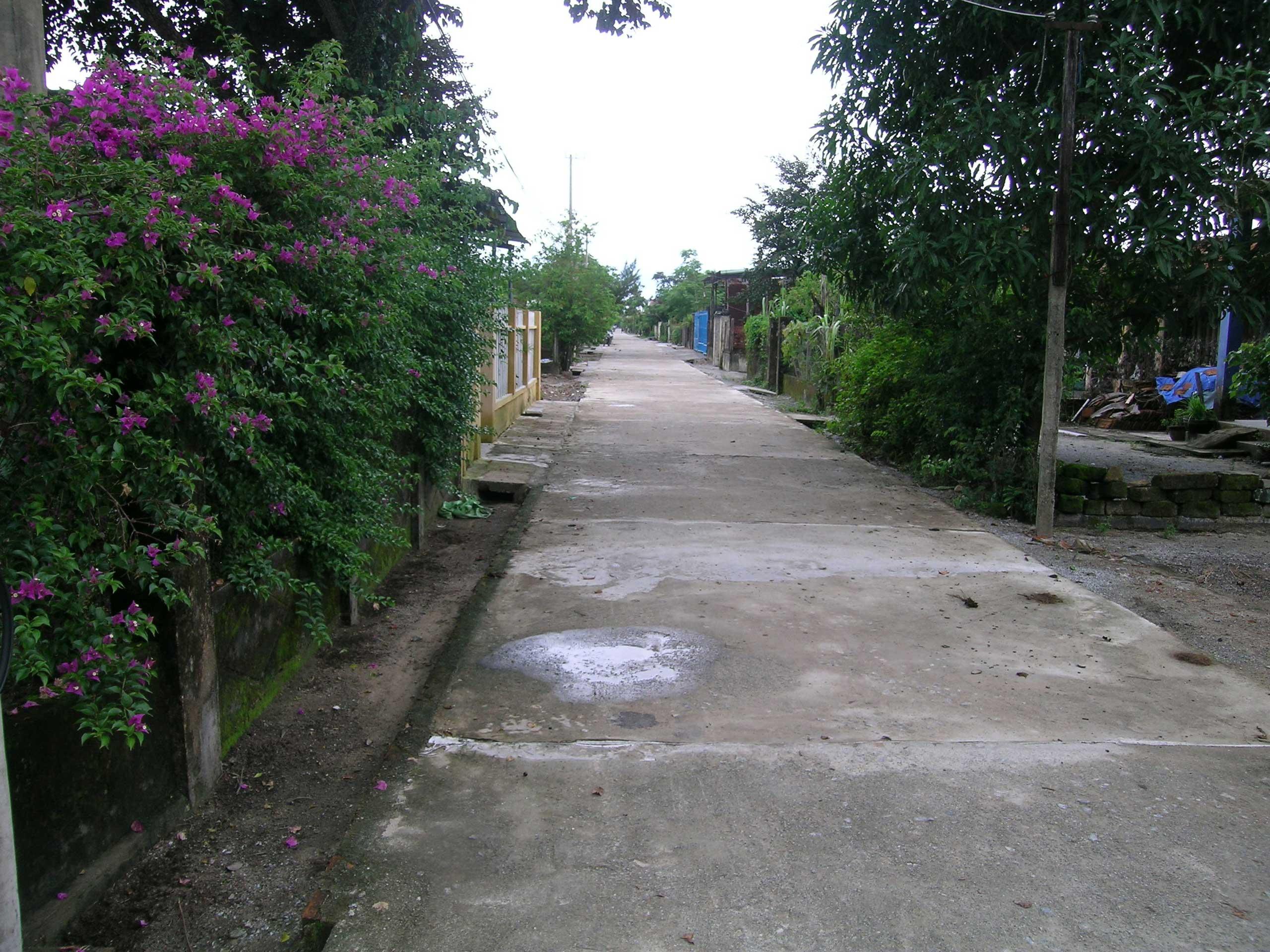 Esempio di insediamento, smaltimento acque attuale