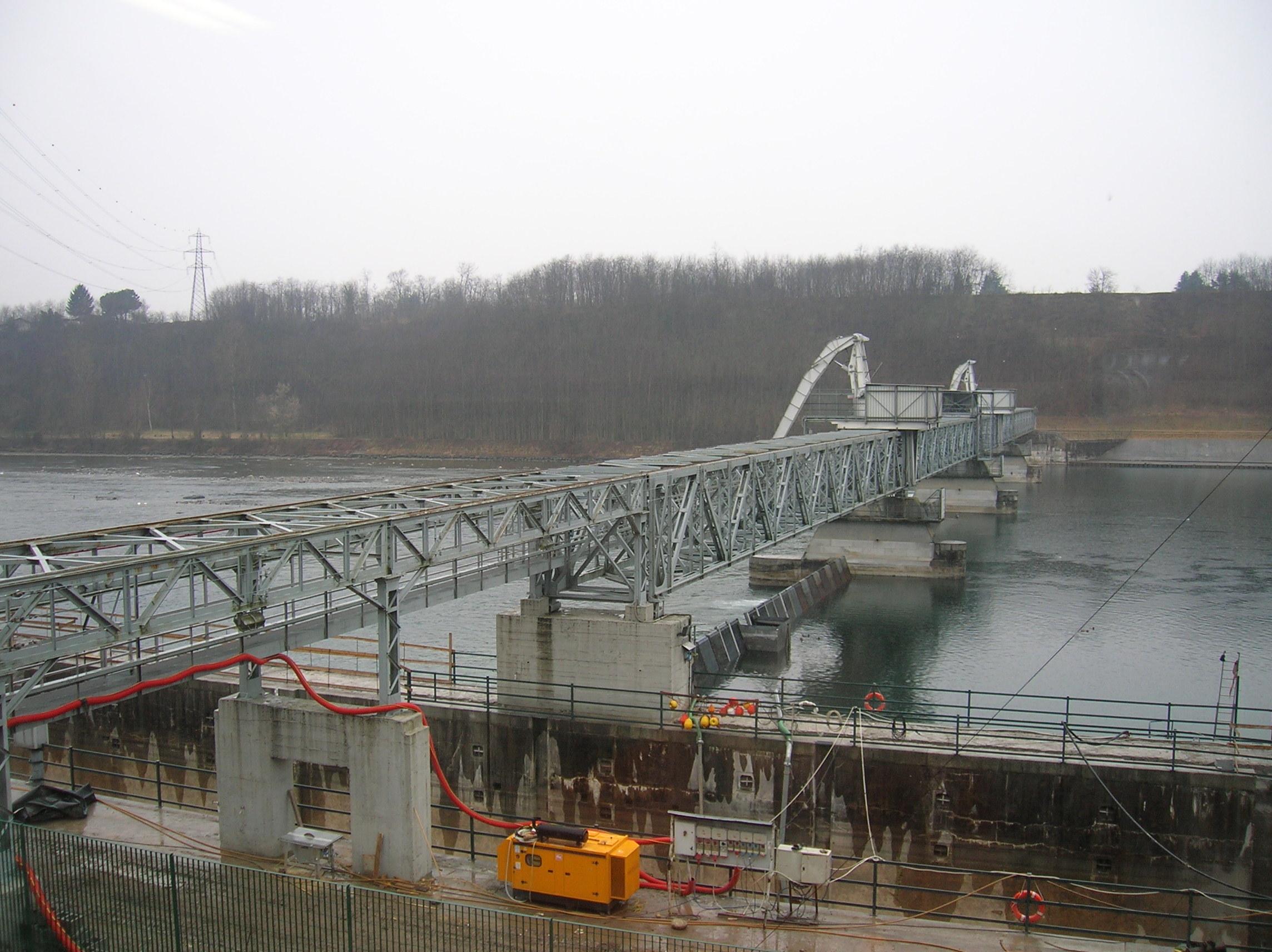"""01- La diga. Ricerca sul DMV """"Deflusso Minimo Vitale"""" del fiume Ticino dalla diga della Miorina alla confluenza con il Po"""
