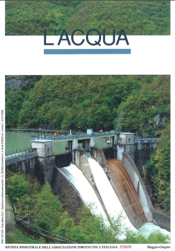 Copertina rivista L'ACQUA n° 3/2010