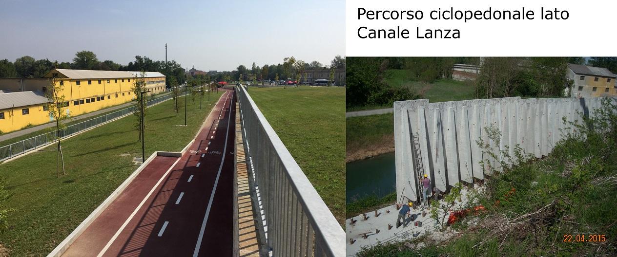 03_Percorso ciclopedonale lato Canale Lanza