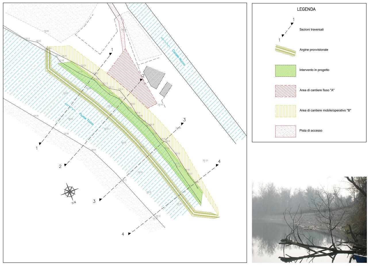 05 - Planimetria intervento parco Ticino