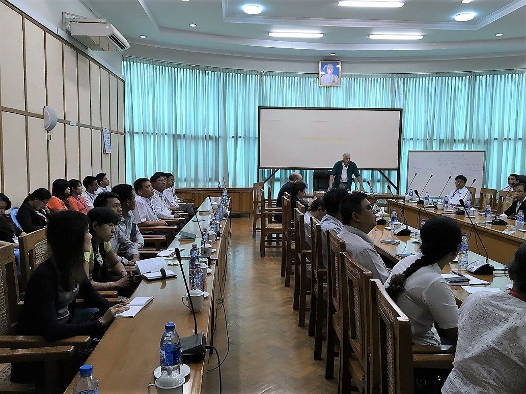 01 - Seminar in Naypyitaw, Myanmar