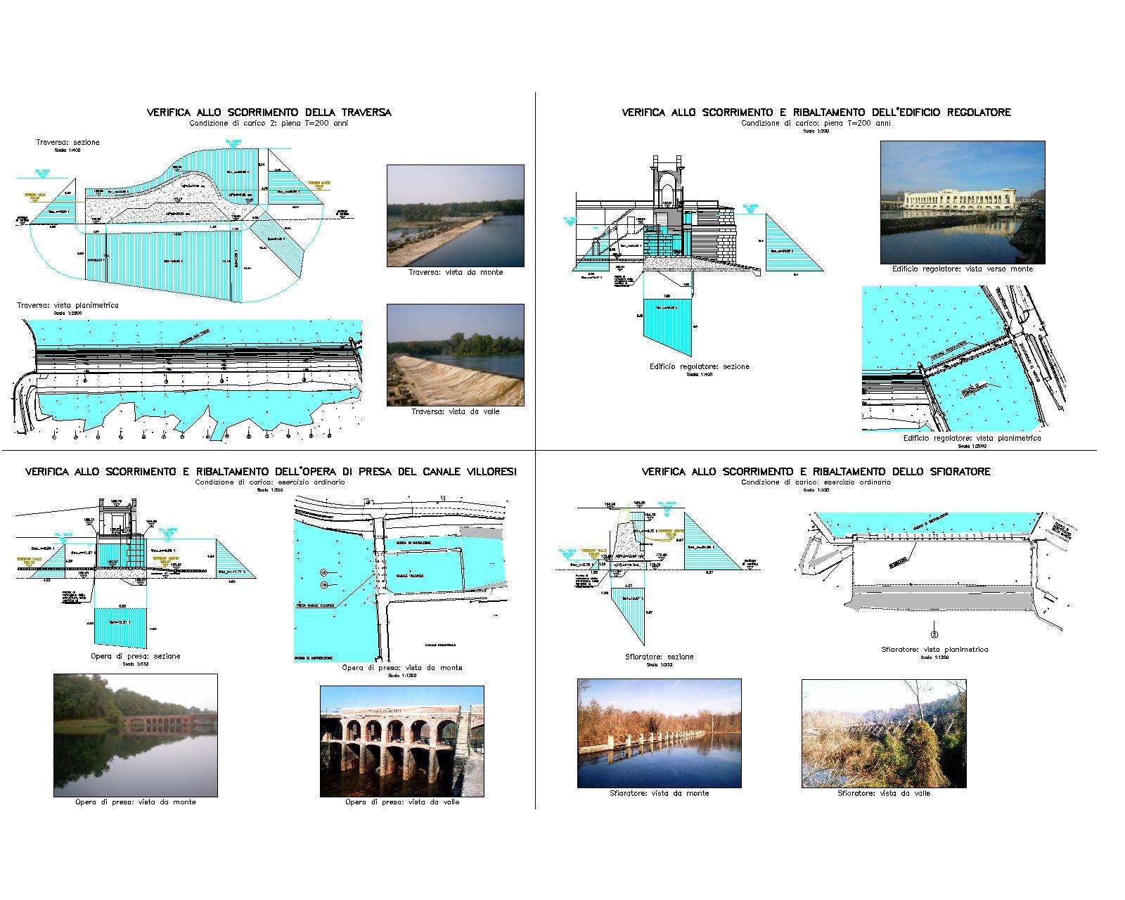 01 - Verifica opere di presa Canale Villoresi(2003)
