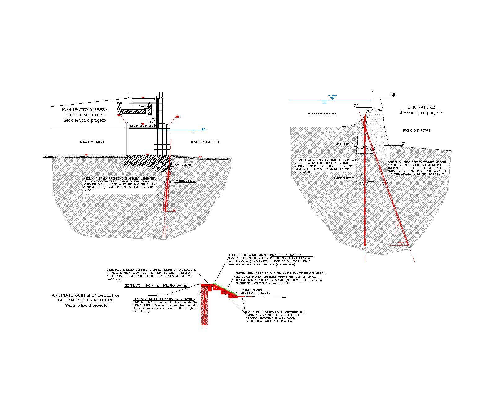 05 - Consolidamento sfioratore Canale Villoresi