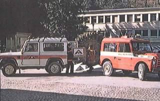 Mezzi protezione civile 1987